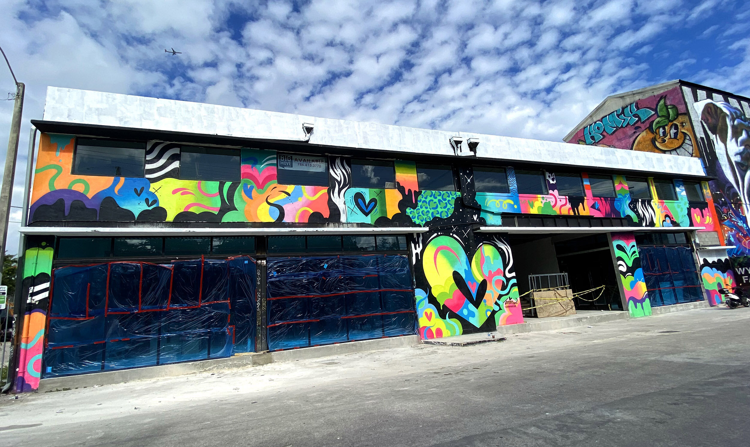 Heart large mural