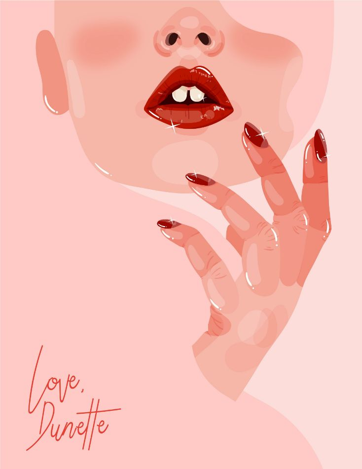 Lips by Anna Sudit
