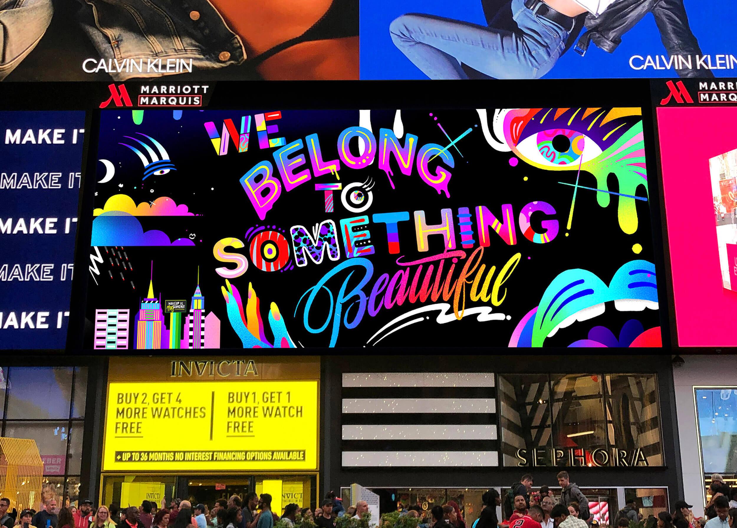 Sephora Campaign Times Square