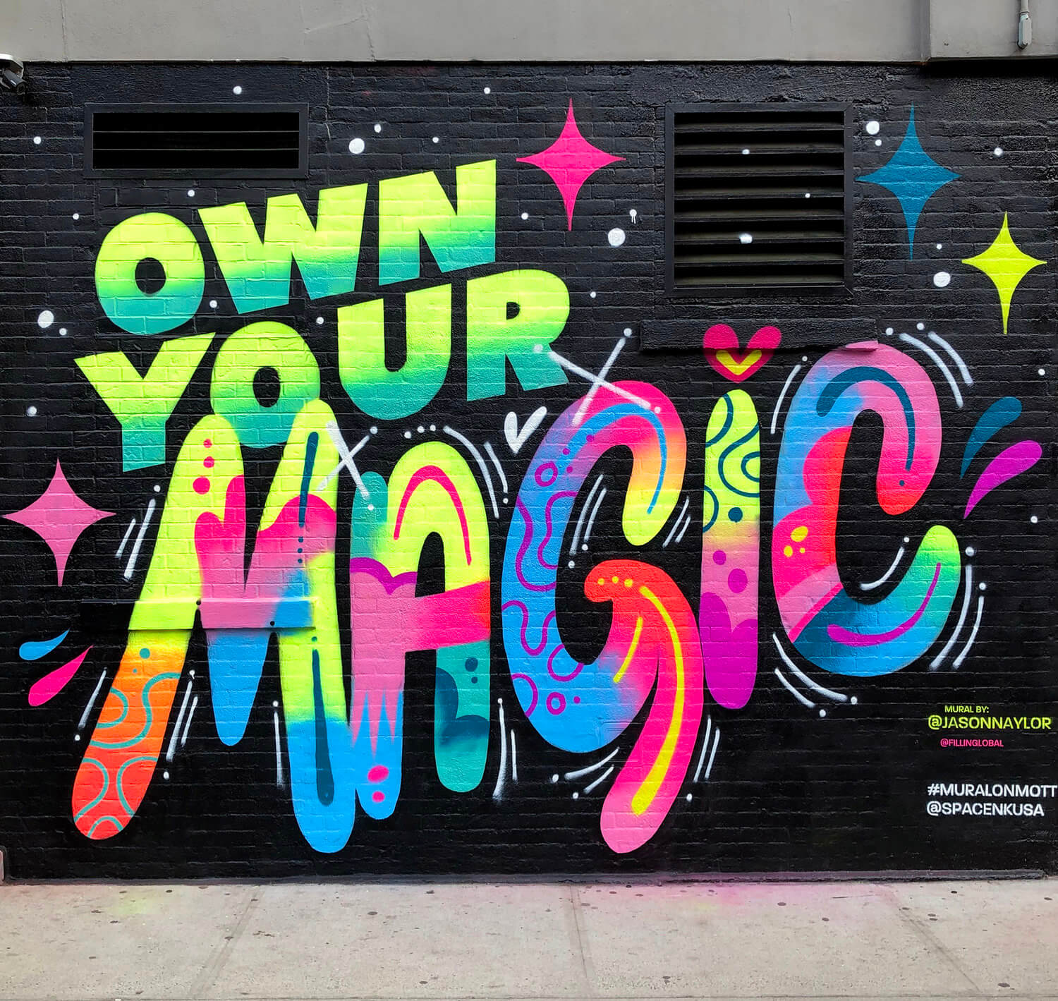 Own Your Magic Mural