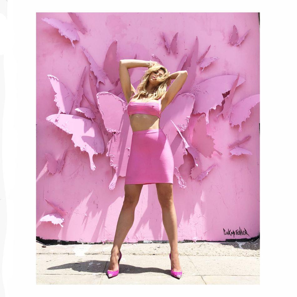Pink Mural