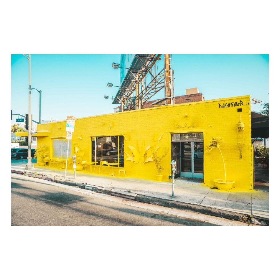 Yellow Mural