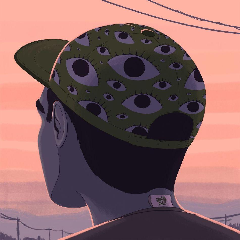 Eye Cap by Robert Hunter