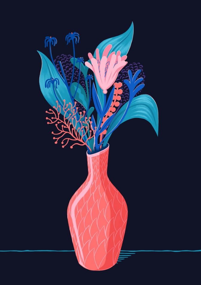 Vase by Robert Hunter