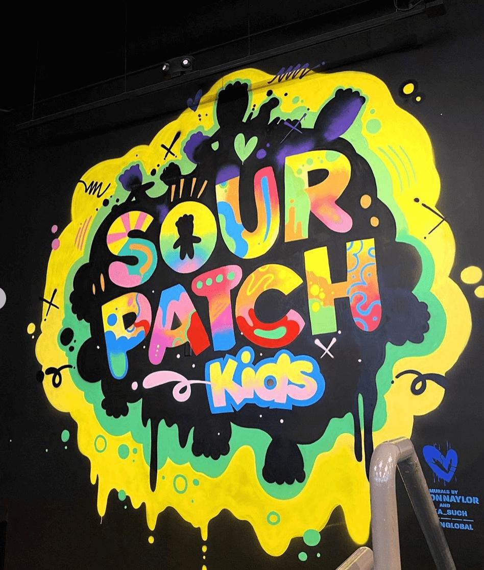 Sour Patch Kids x Jason Naylor logo