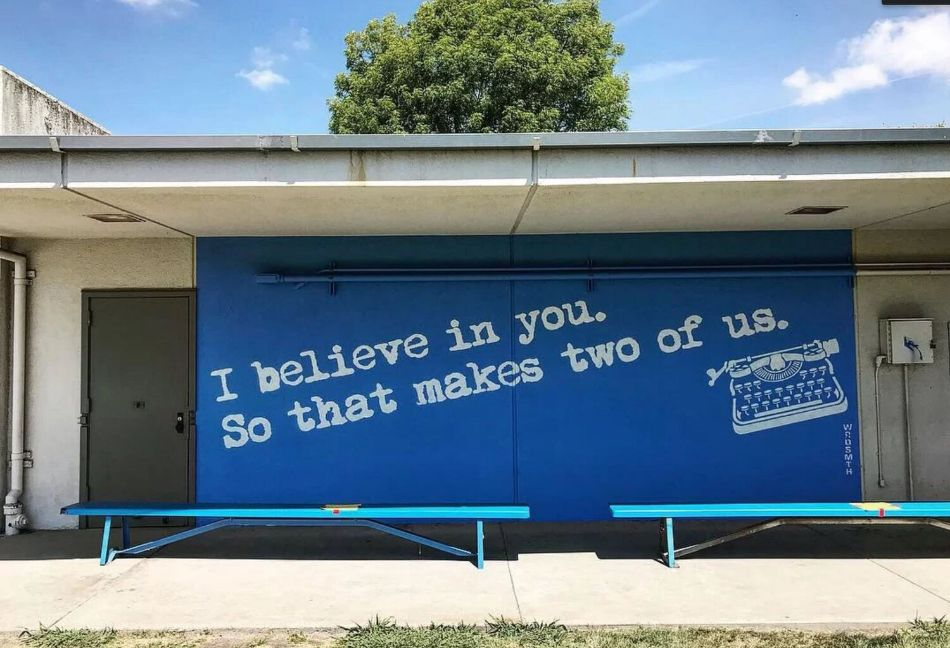 I Believe in You by WRDSMTH