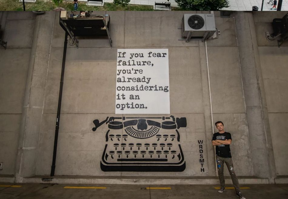 If You Fear Failure by WRDSMTH