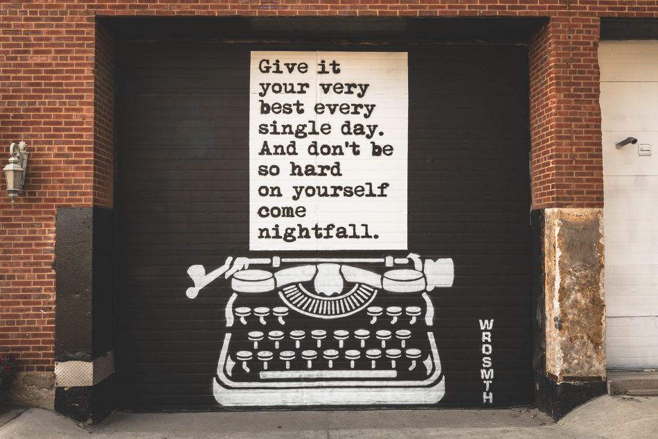 Give it Your Very Best by WRDSMTH