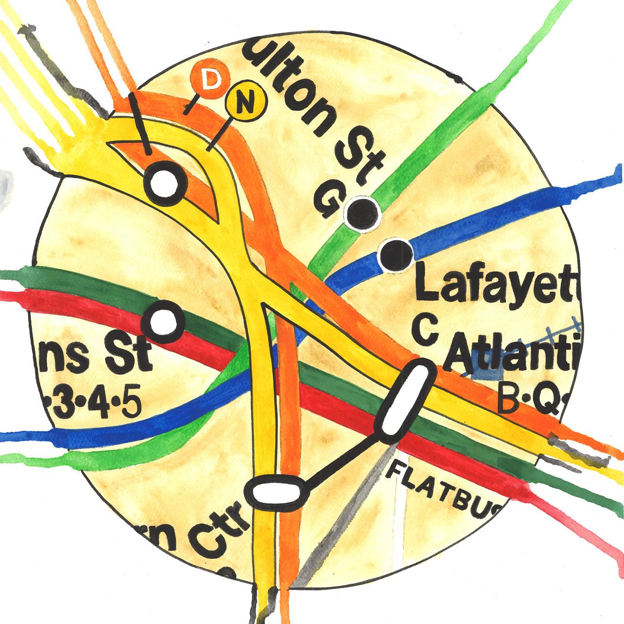 MTA Map
