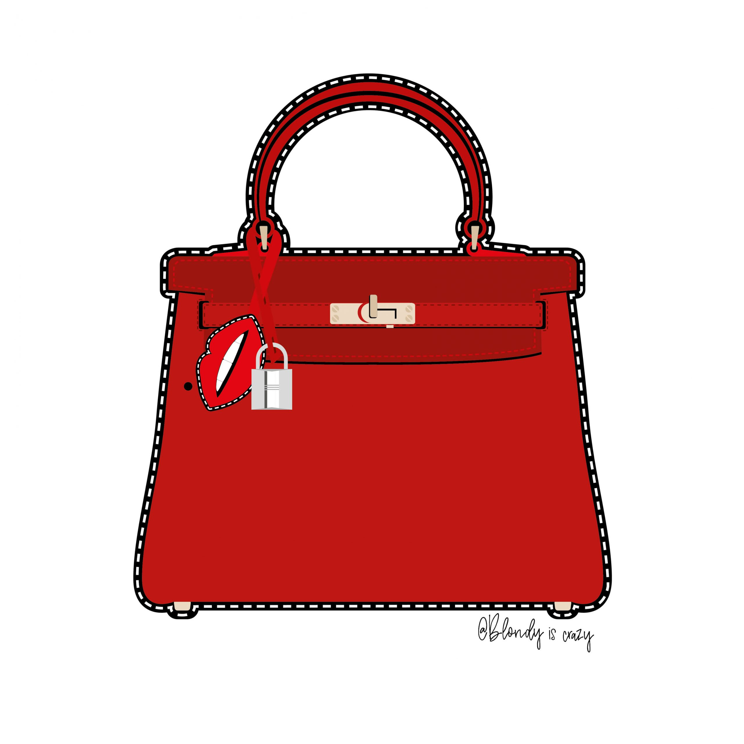 Red Purse by Blondy is Crazy