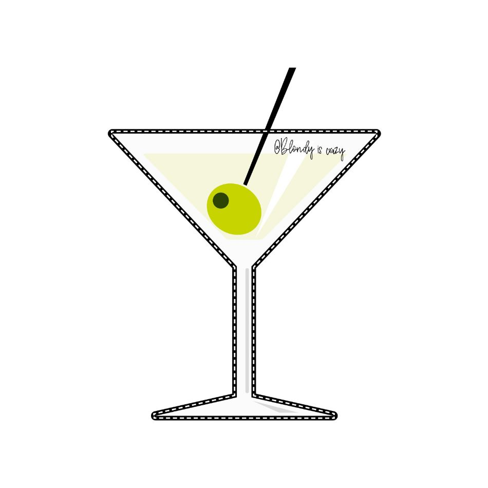 Martini by Blondy is Crazy