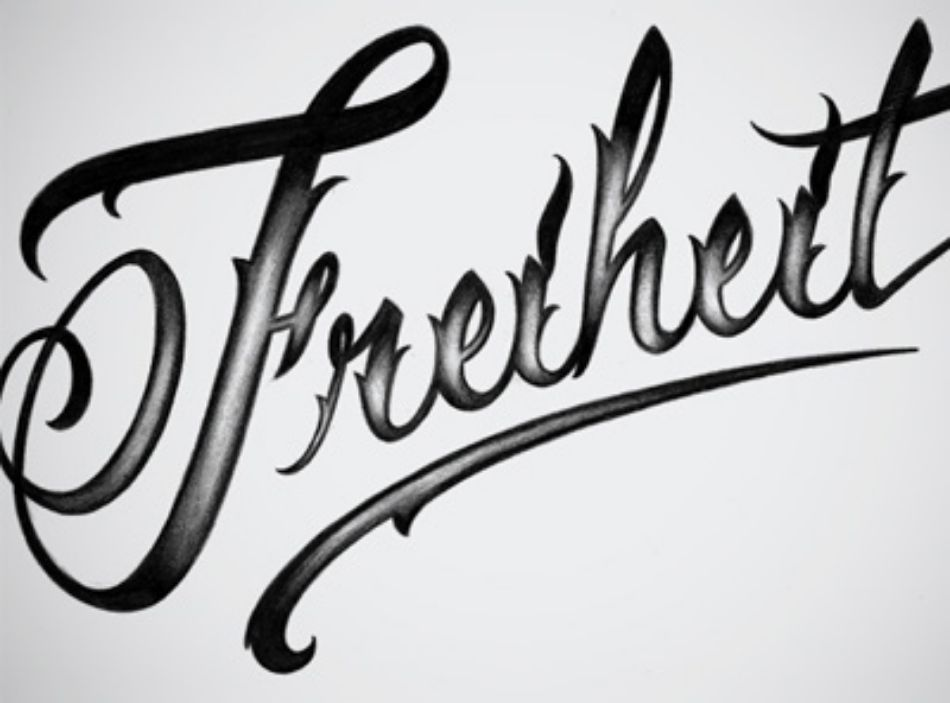 Lettering by Bonnie Class
