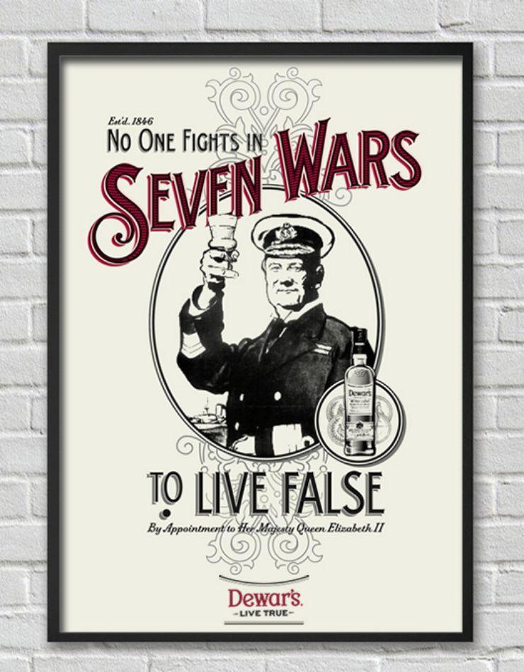 Seven Wars by Bonnie Class