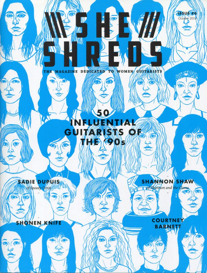 She Shreds by Cali Sales