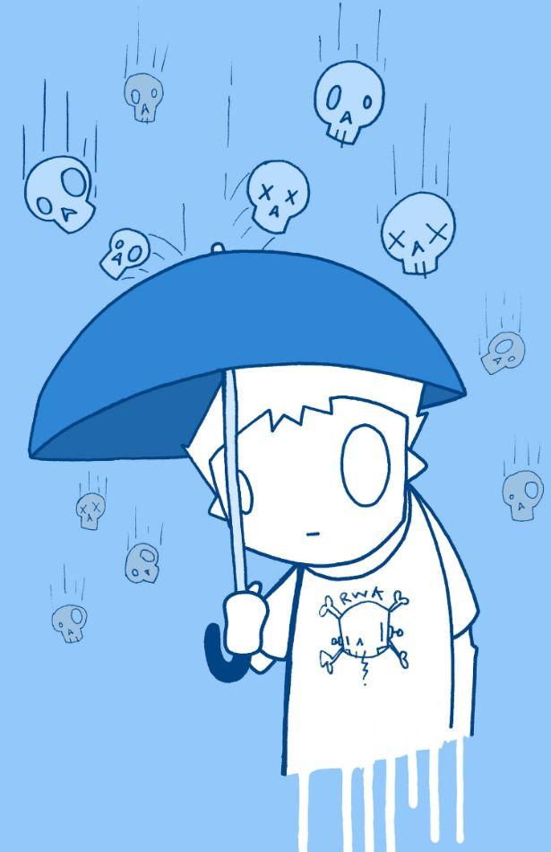 Raining Skulls by ChrisRWK