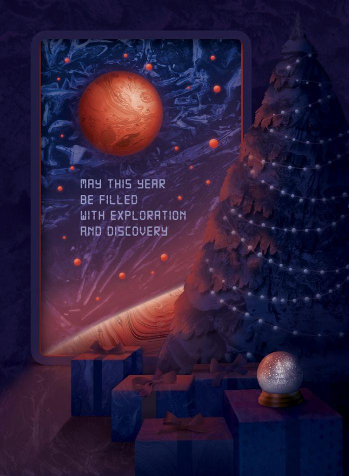 Christmas by Daria Schychenko