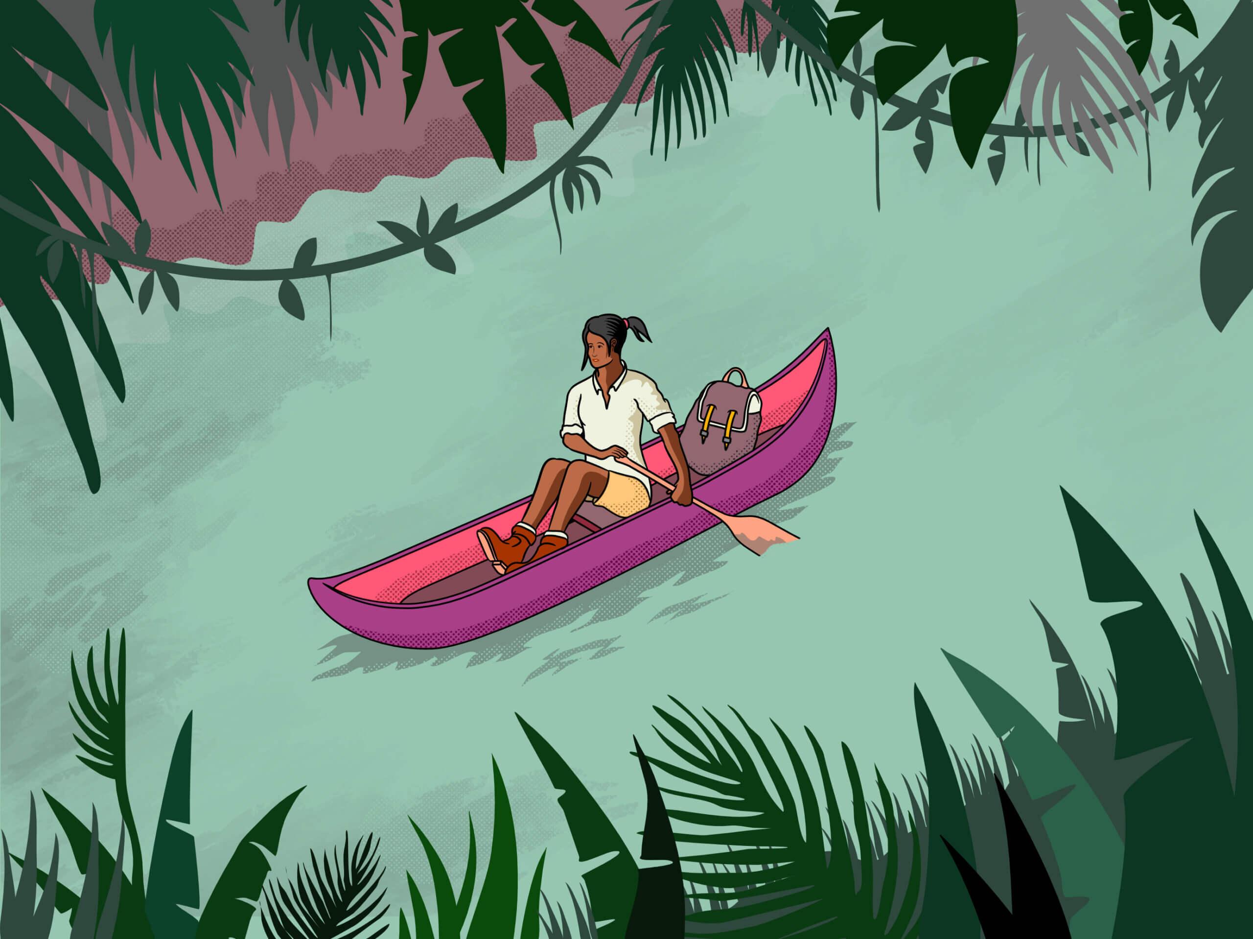 Kayak through the Jungle