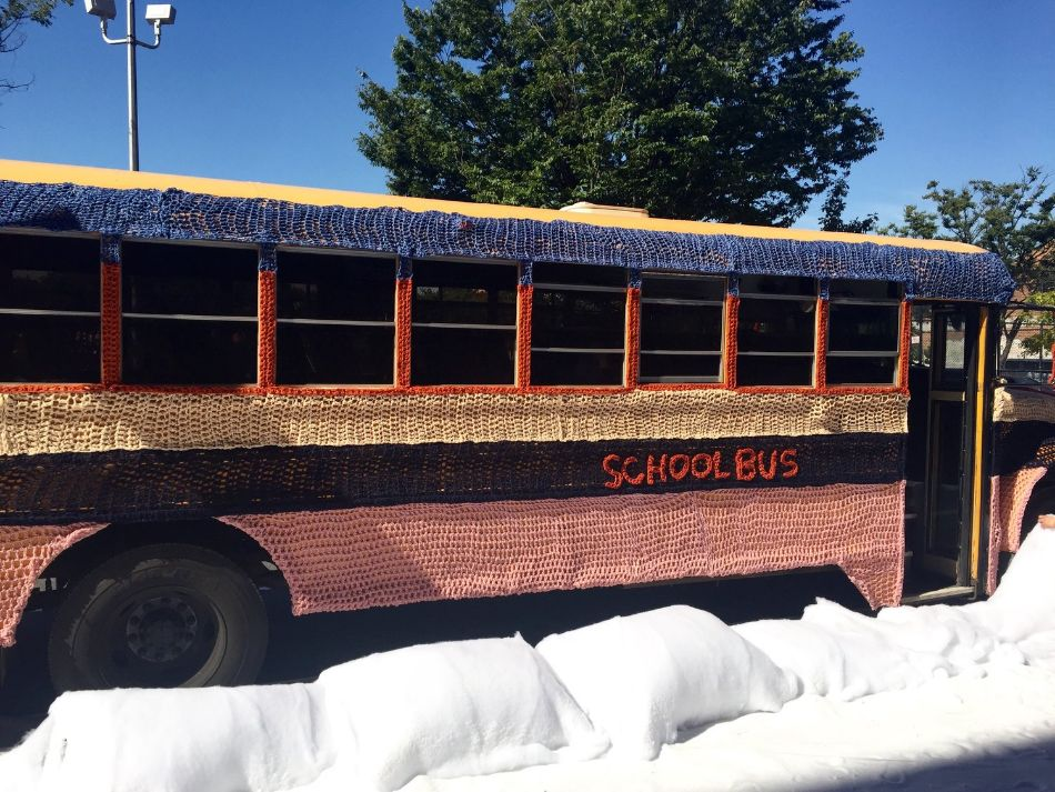 School Bus by London Kaye