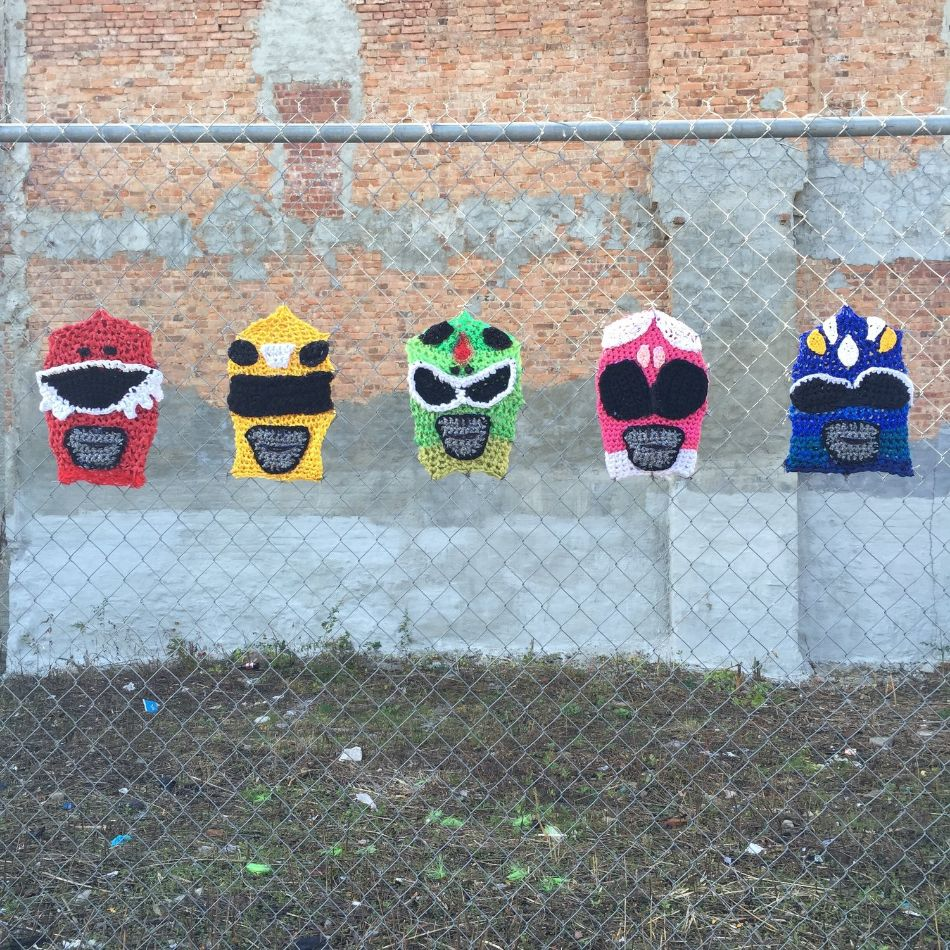 Power Rangers by London Kaye