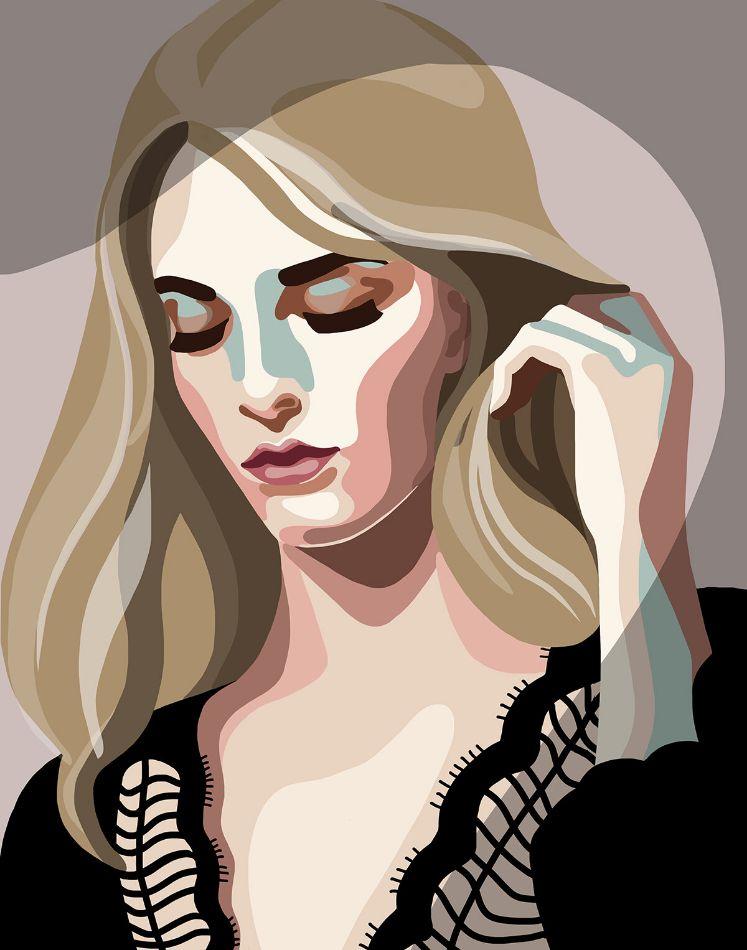 Portrait by Mathilde Crétier
