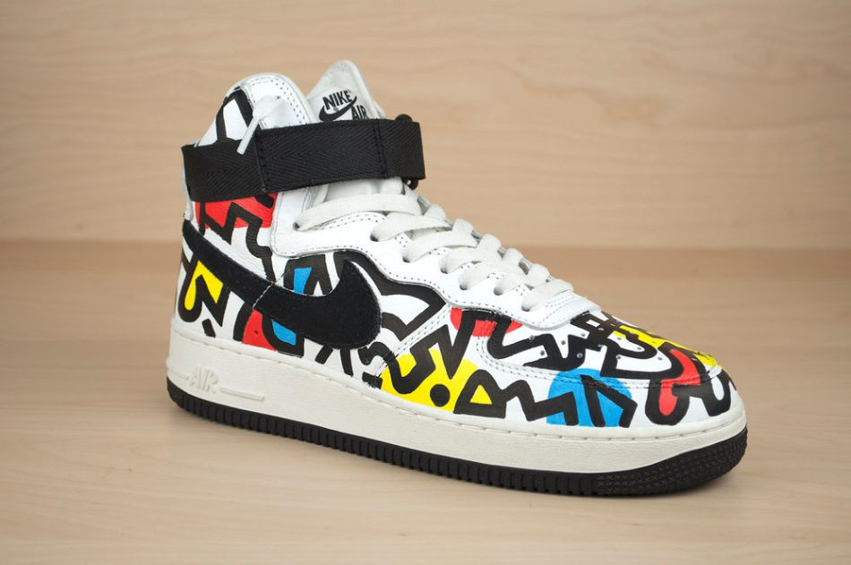 Nikes by Nick Chaffe