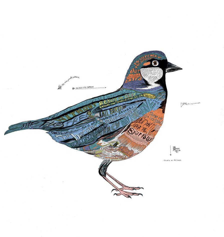 Bird by Nick Chaffe