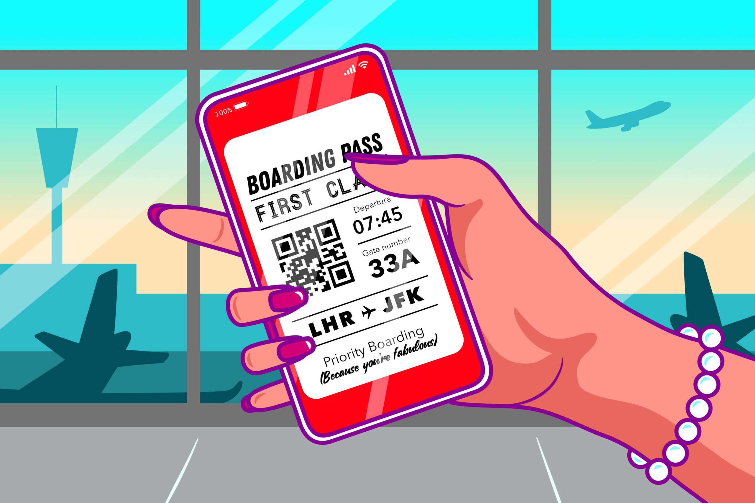 Generic Boarding Pass