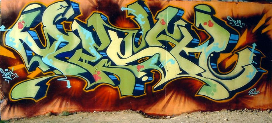 Green Mural by Pest