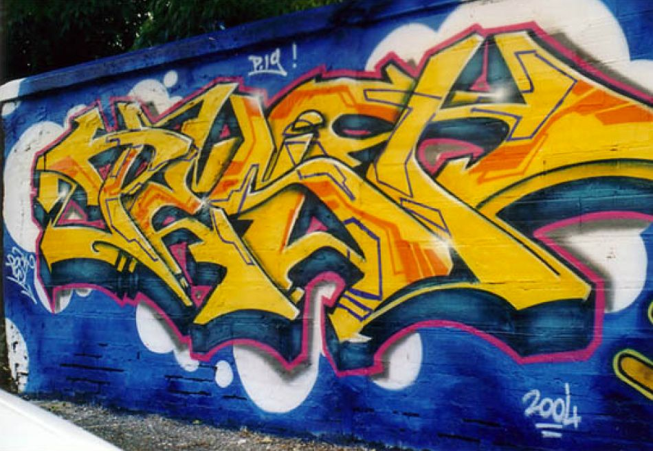 Yellow Mural by Pest