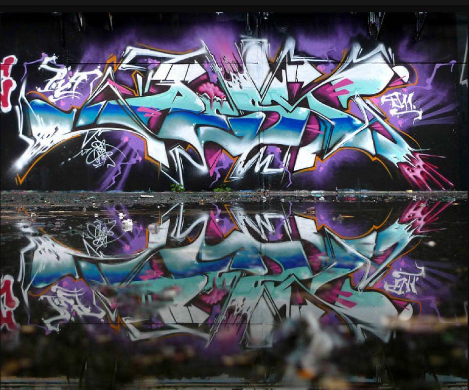 Lightning Mural by Pest