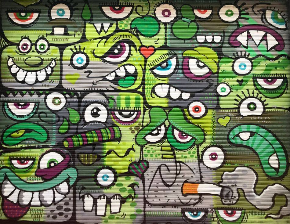 Green Characters by Phetus