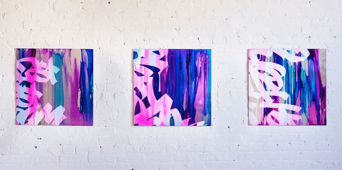 Three paintings by Jeremy Penn
