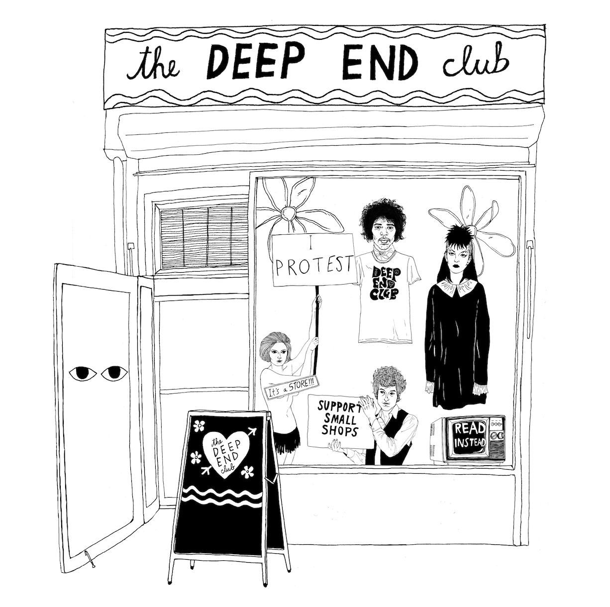 The Deep End Club by Cali Sales