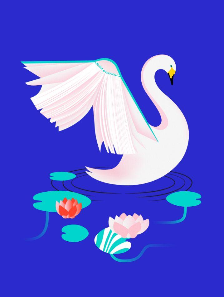 Swan by Sofia Pusa