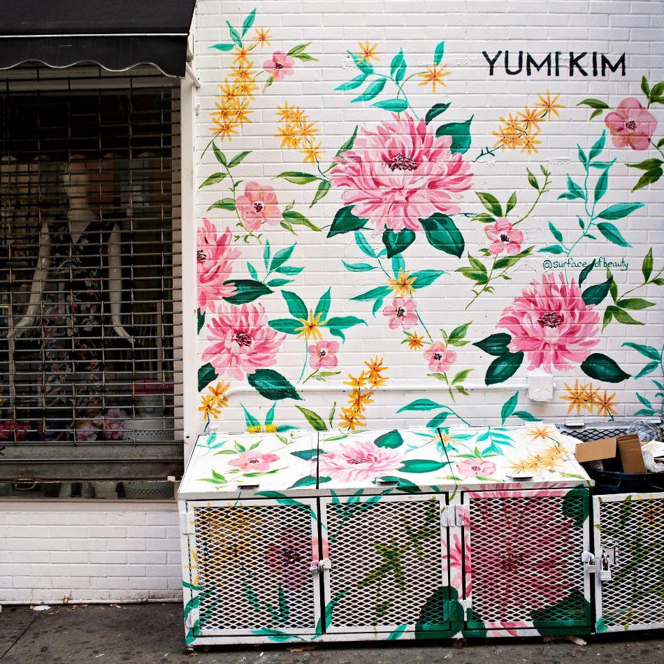 Yumi Kim Wall by Surface of Beauty