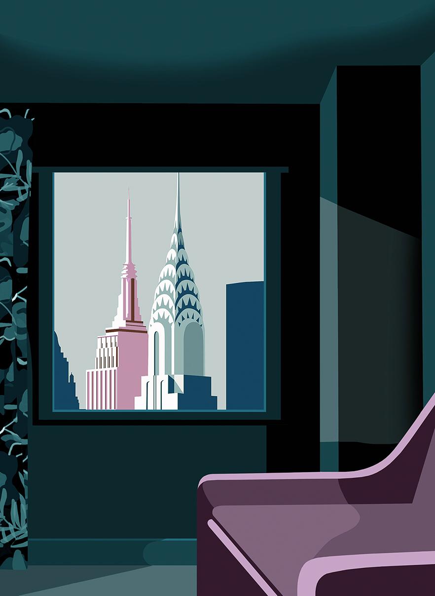 City by Mathilde Crétier