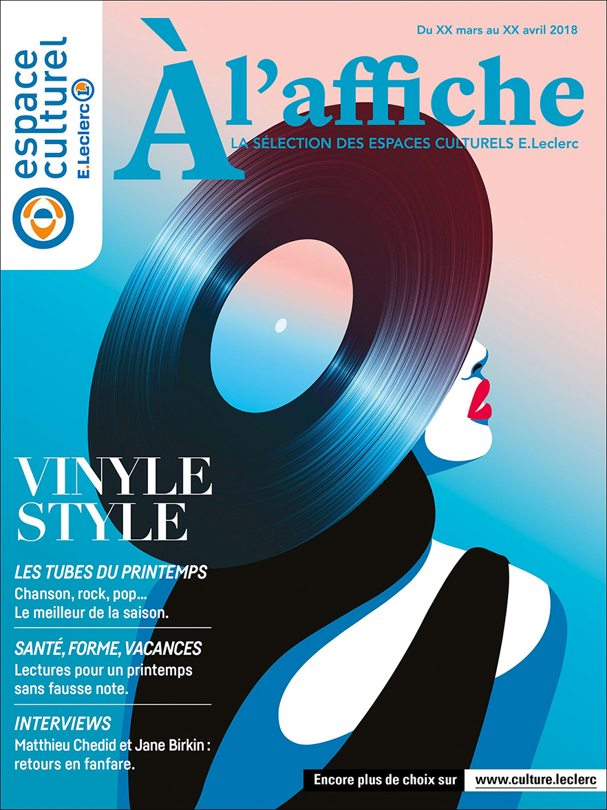 Magazine Cover by Mathilde Crétier