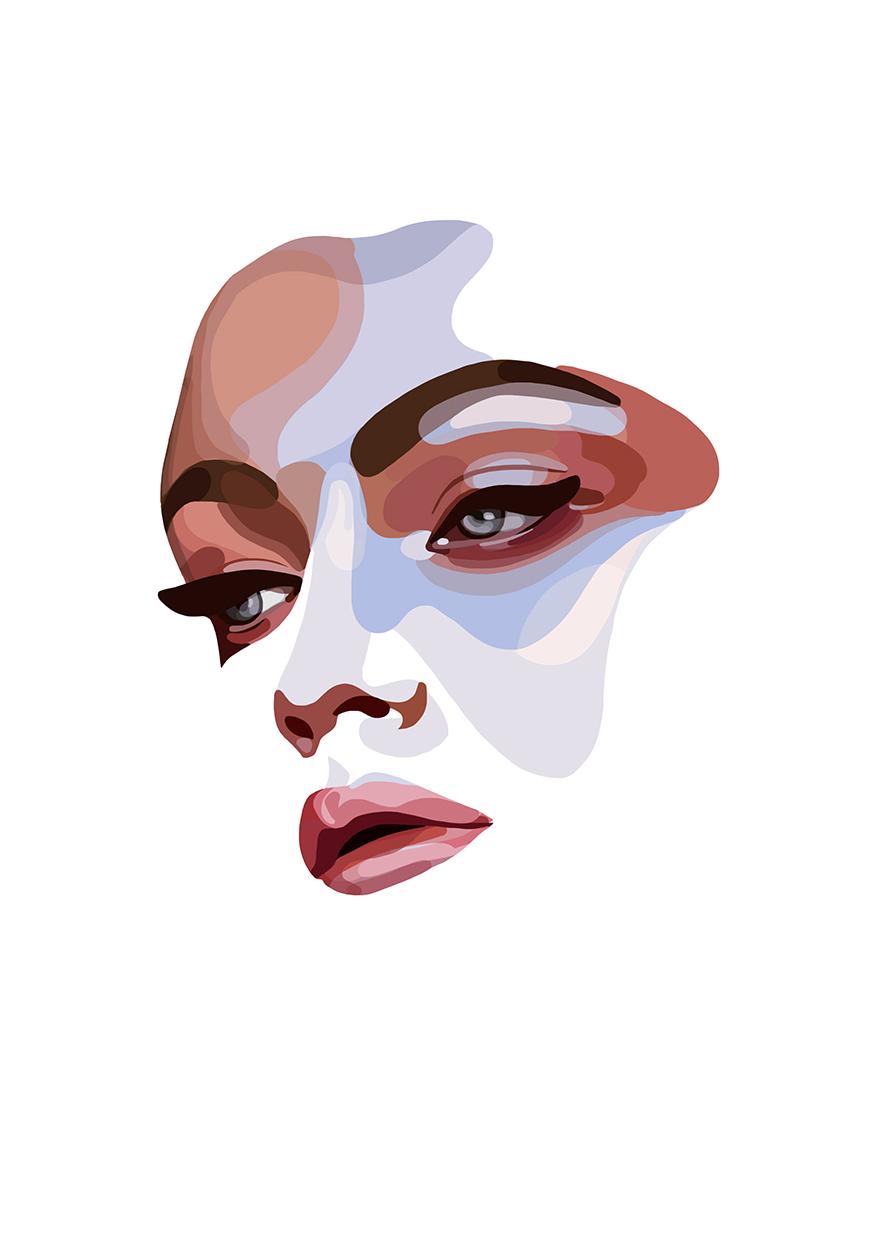 Face by Mathilde Crétier