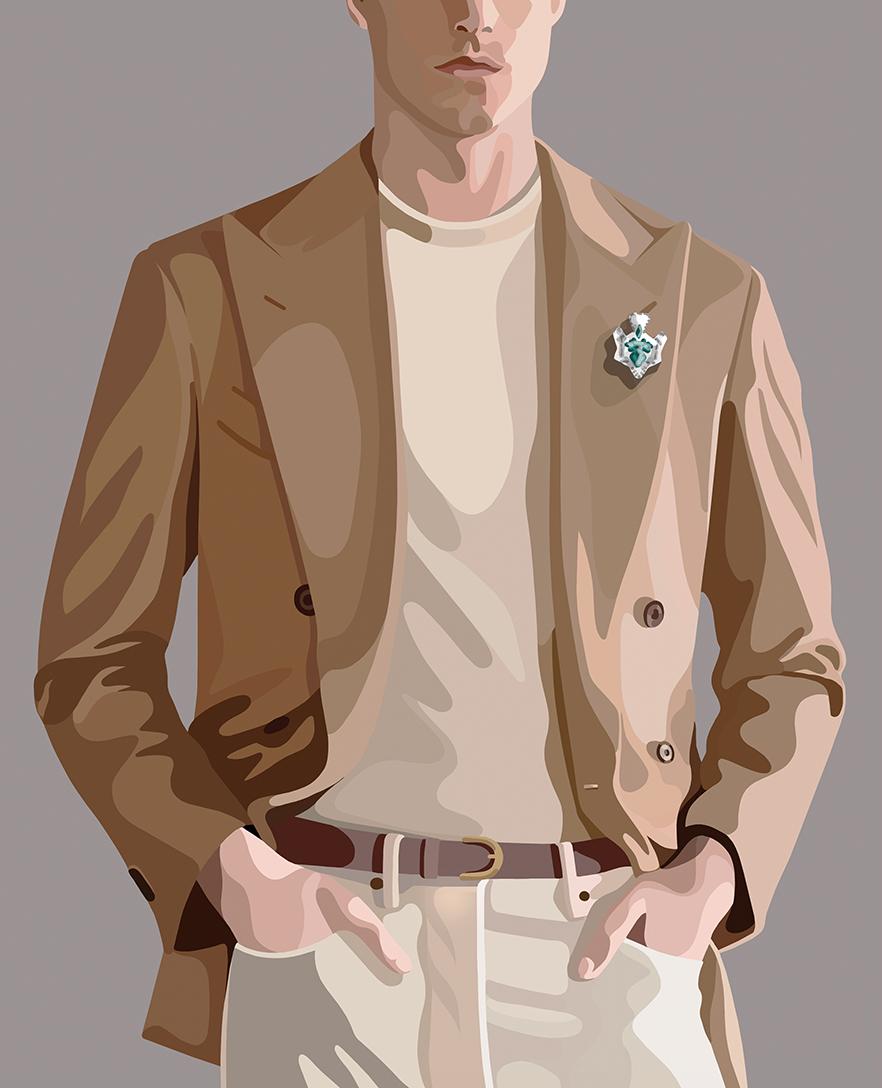 Man Fashion by Mathilde Crétier