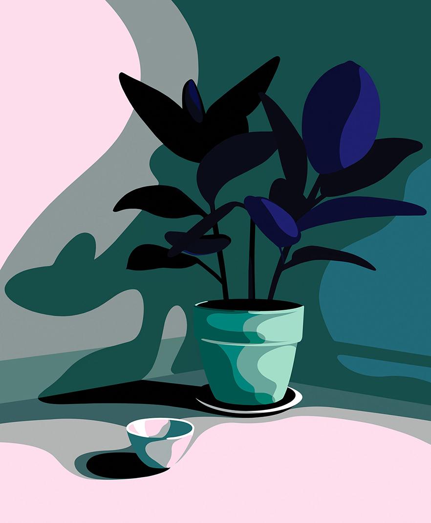 Plant by Mathilde Crétier