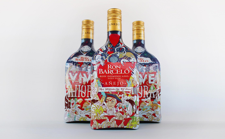 Barcelo Rum Packaging