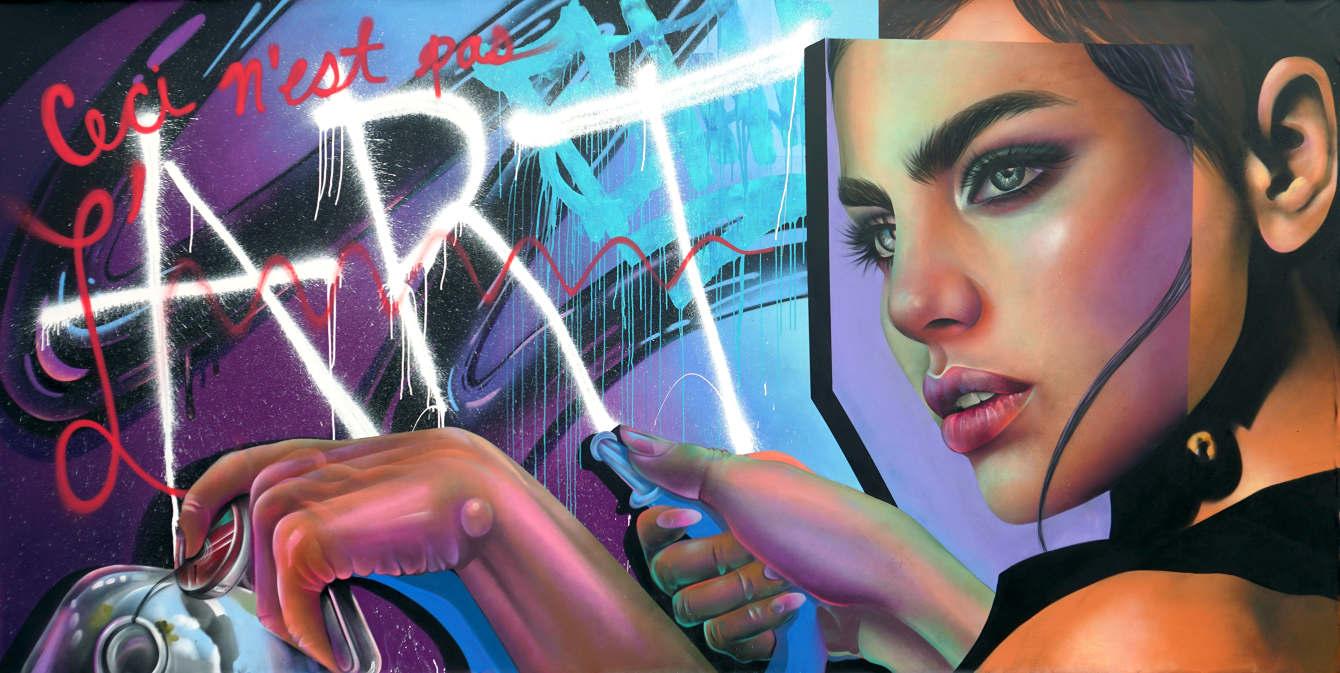Ceci N'est Pas L'Art by ELLE
