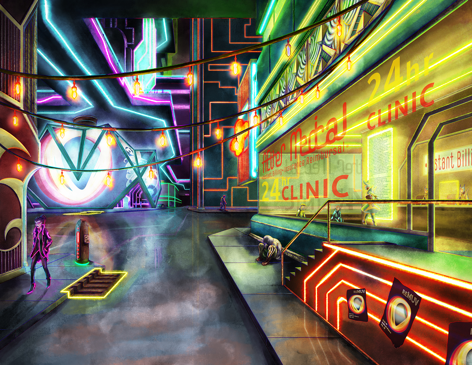 The Clinic by Ivan Potter-Smith