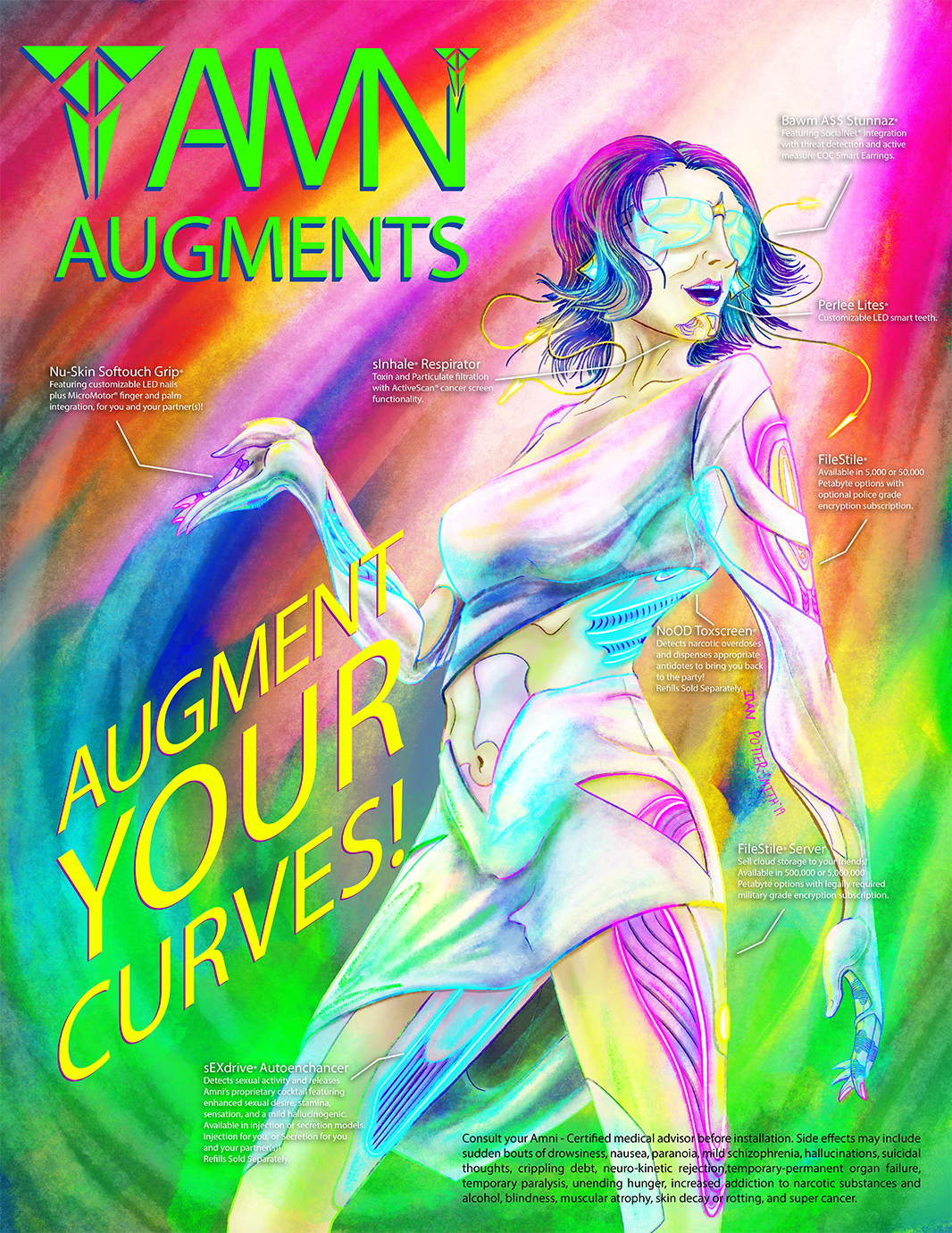 Augment Your Curves by Ivan Potter-Smith