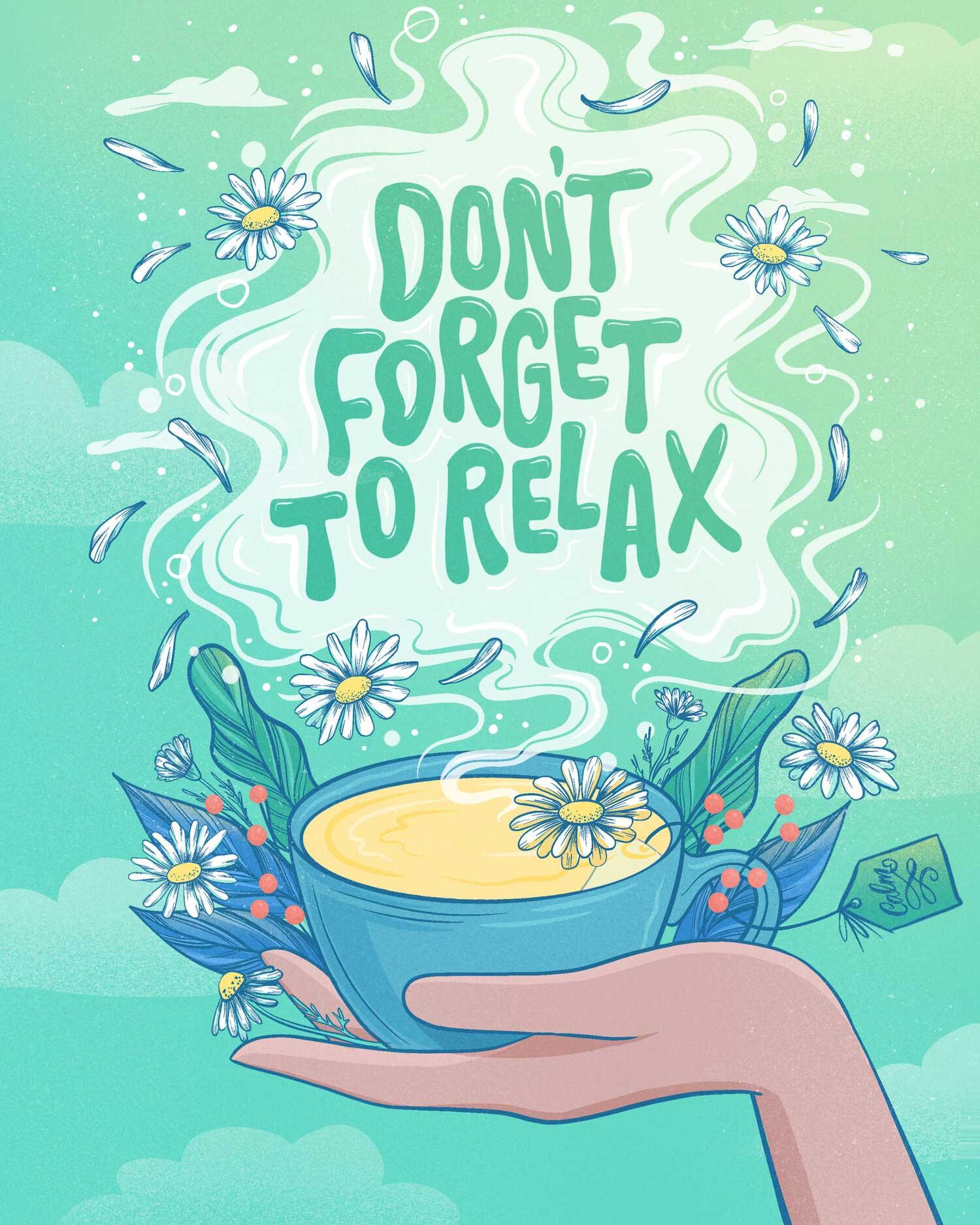 belinda-kou-dont-forget-to-relax-digital-lettering
