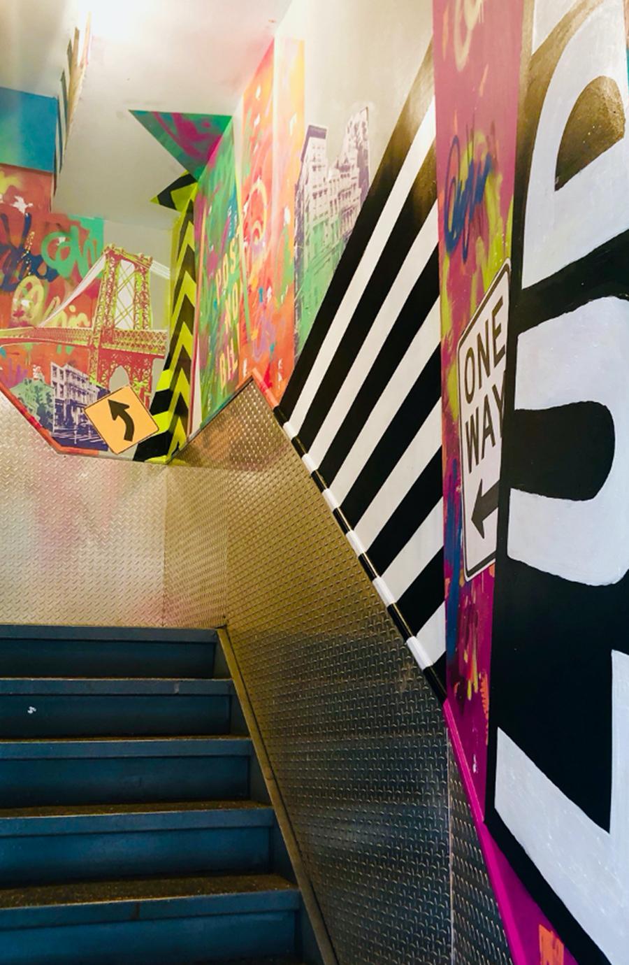 Stairwell Skyline - Bianca Romero