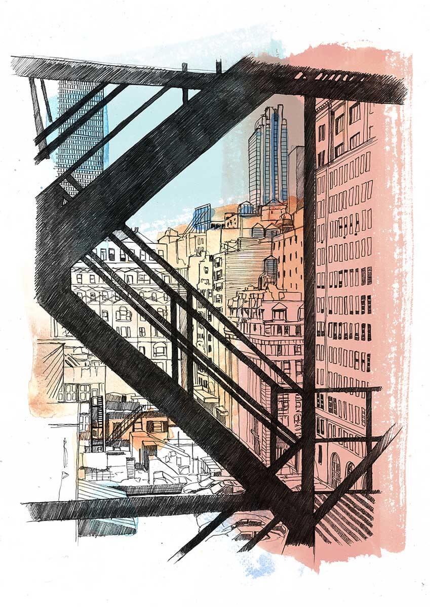 Midtown by Sebastian Arnold