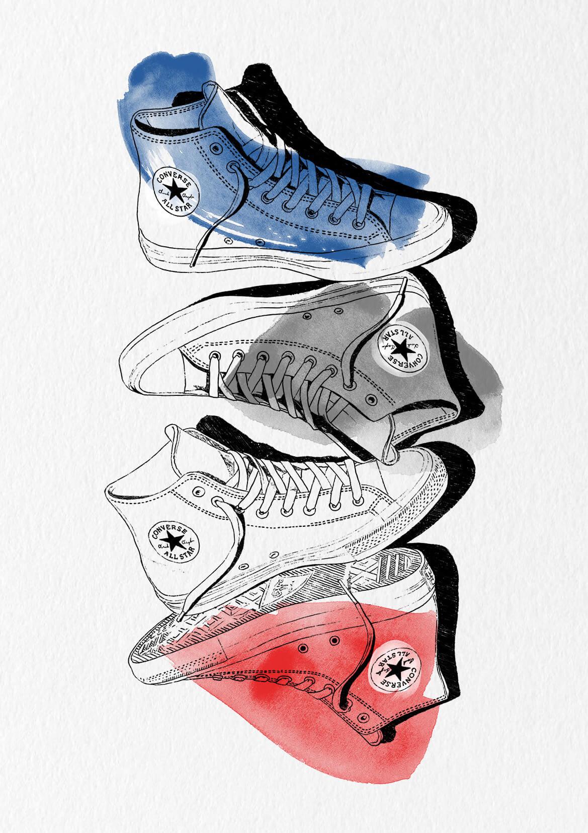 Converse by Sebastian Arnold