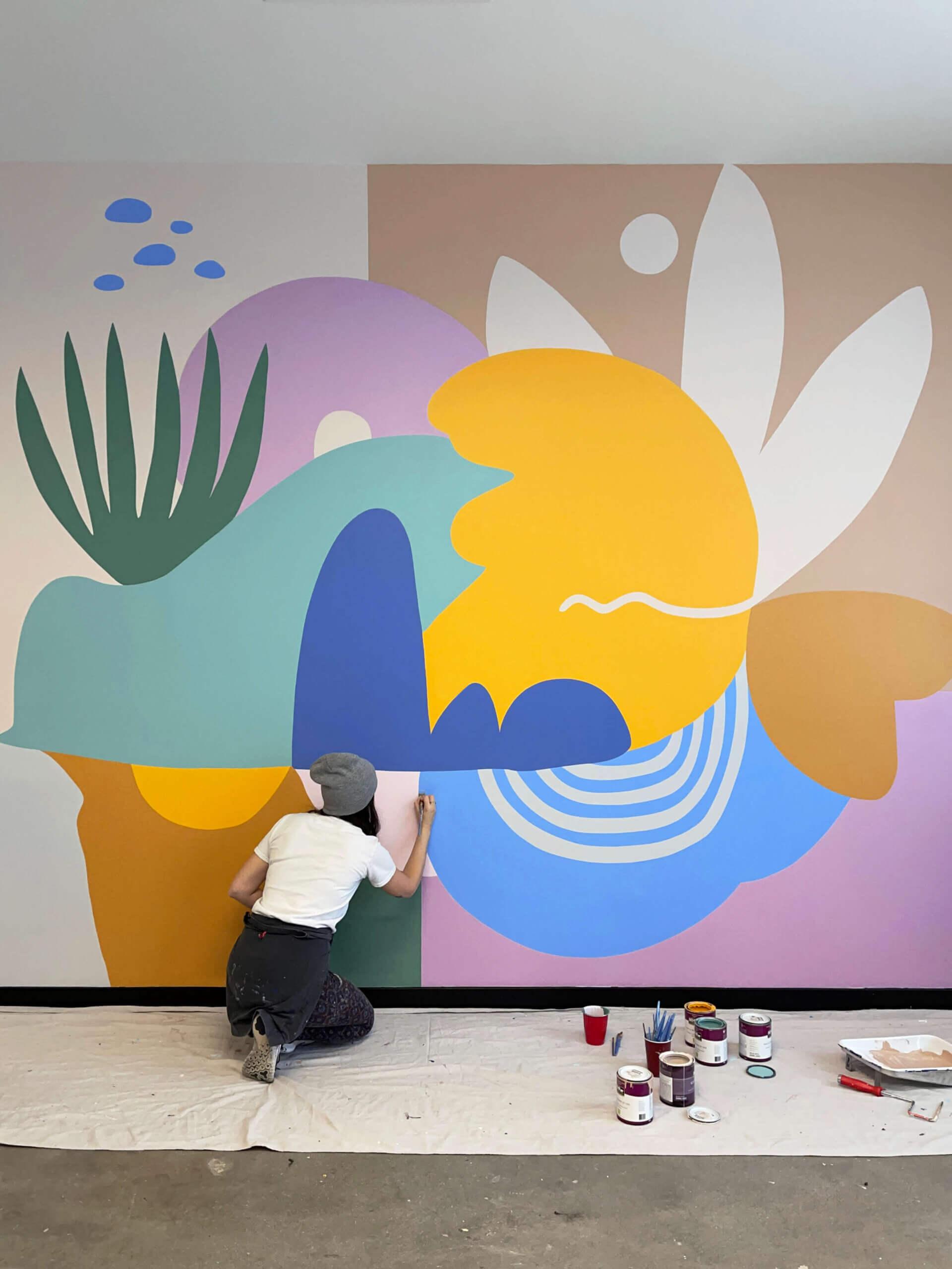 Desert Mural by Emmy Star Brown