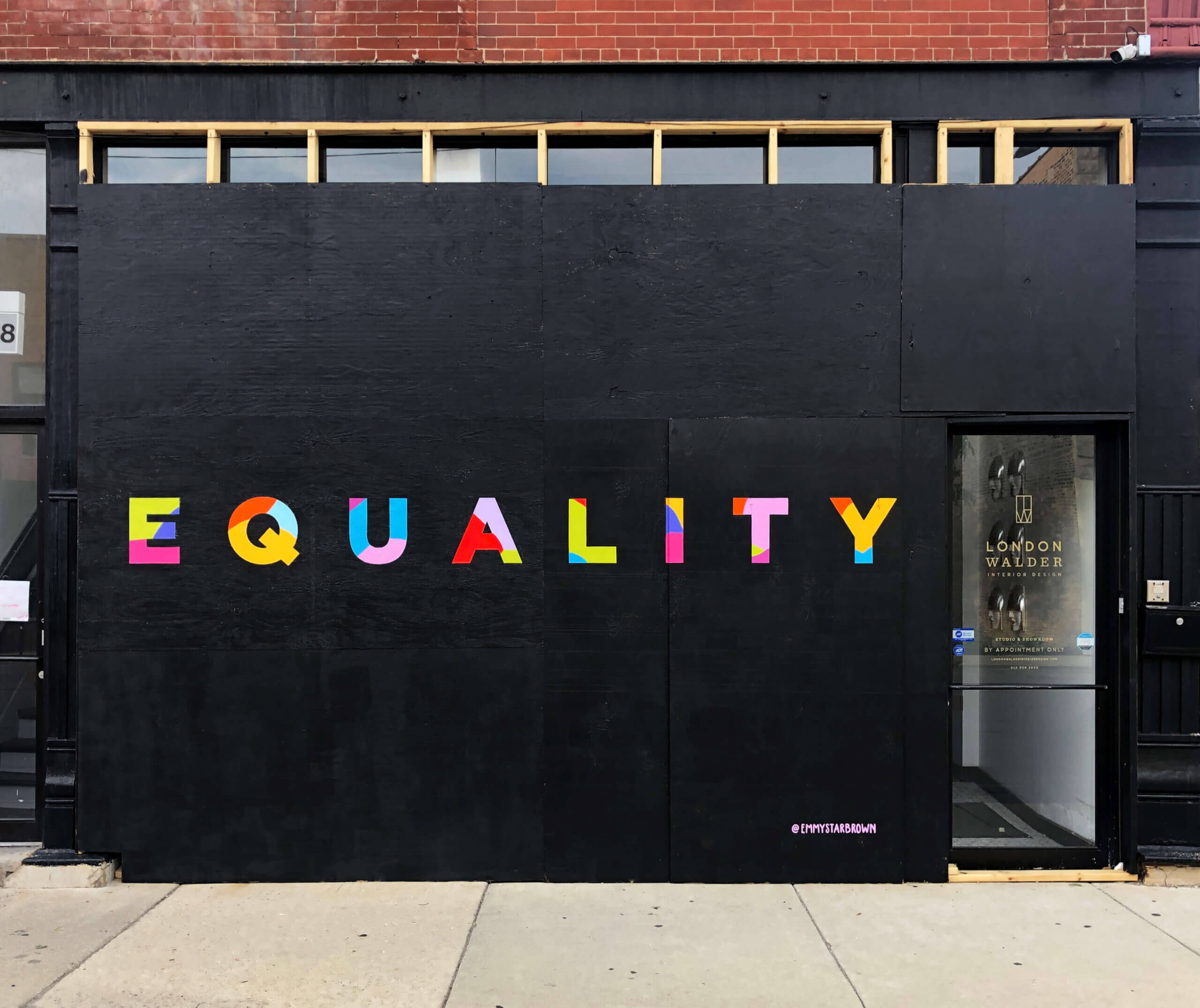 Equality Mural by Emmy Star Brown